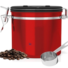 Coffee Canister Airtight- Premium Quality Stainless Steel Coffee Container