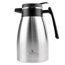 Double Wall Vacuum Insulated Stainless Steel Thermal Carafe Beverages Carafe, 50 Ounce