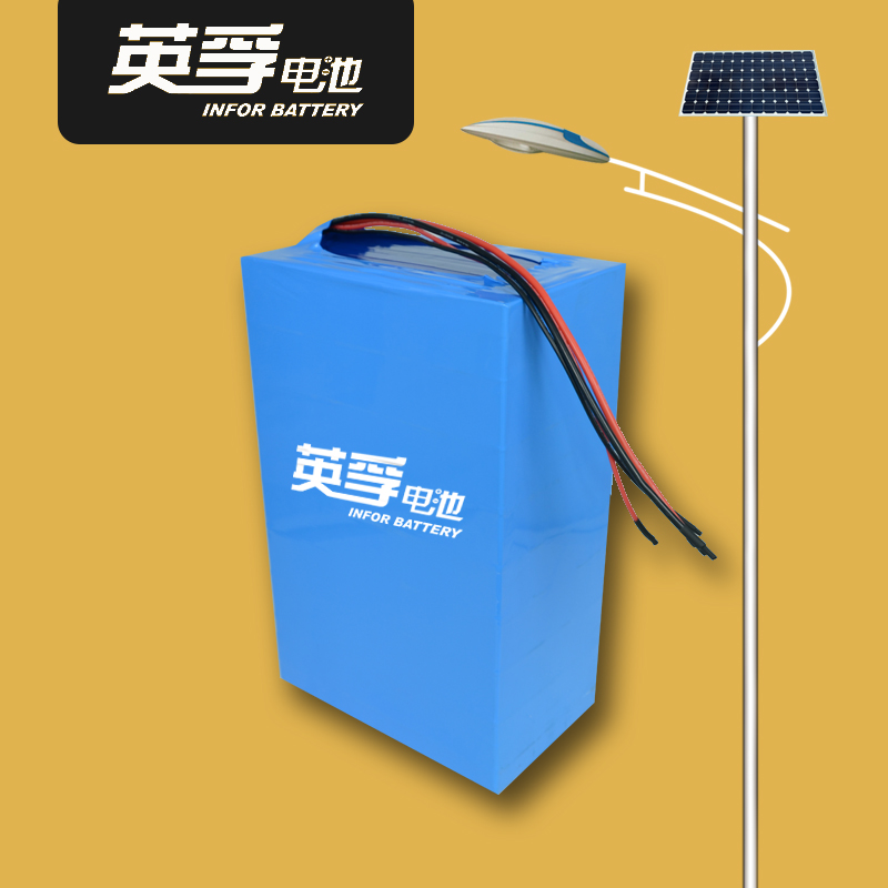 3.7 v100AH lithium storage battery, large capacity solar lithium-ion battery pack