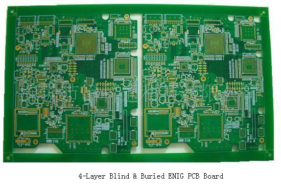 4-Layer Blind & Buried ENIG PCB Board