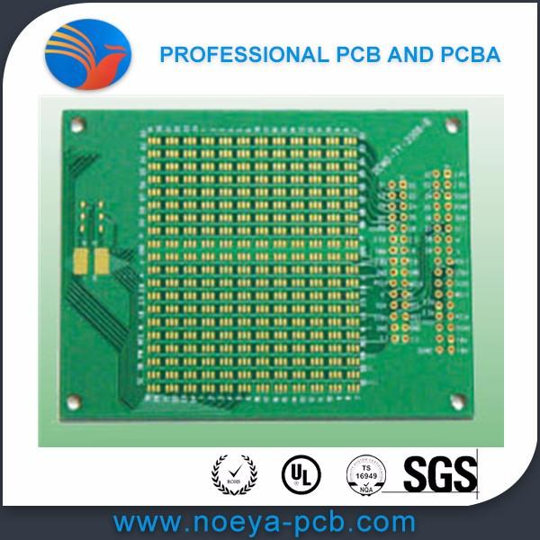 Multilayer underfilled BGA PCBA