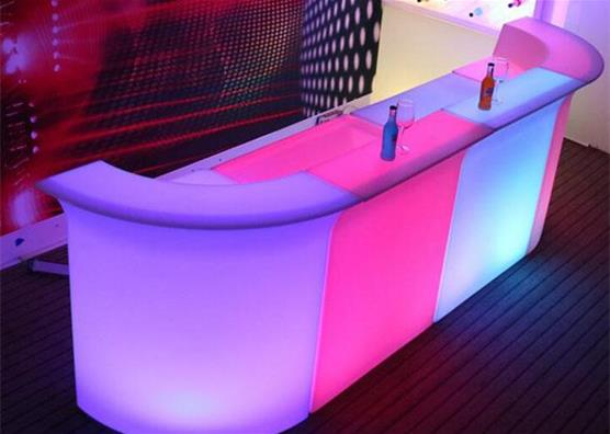 illuminate glow bar furniture bar counter