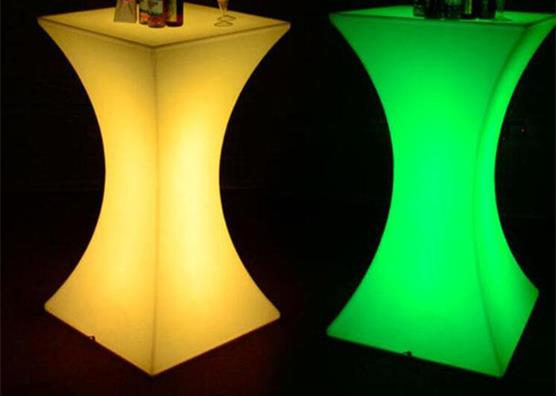 LED lighting bar club pub cocktail table furniture