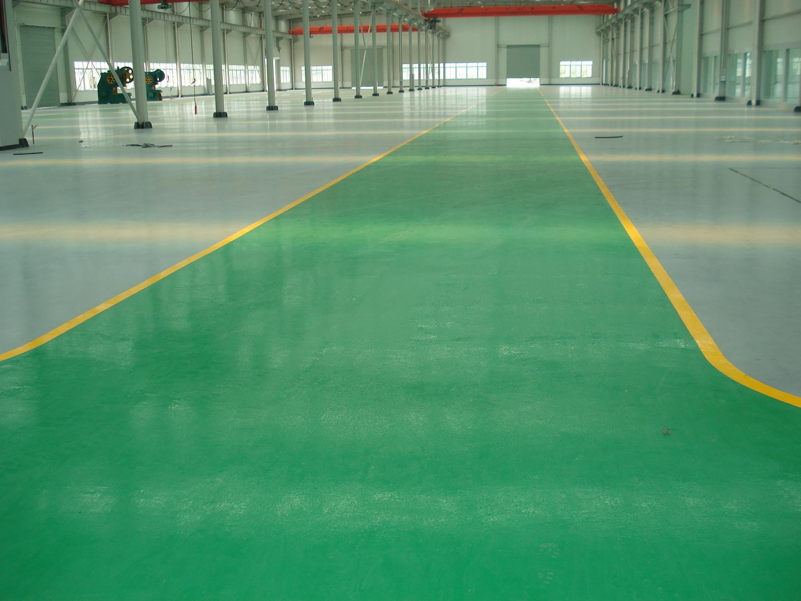 Tuba Multi Color Industrial Floor Paint Warehouse Epoxy