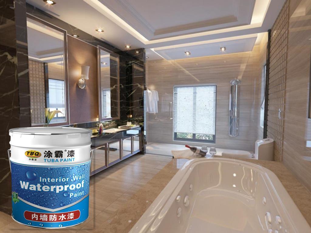 Tuba Waterbased Waterproof Paint For Roof/basement Use